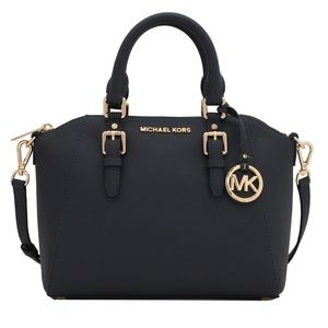 Michael Kors Ciara Saffiano Leather Med-Messenger